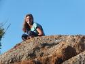 Anat on rocks