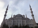 Back of sultan ahmed mosque