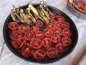 Baked tomatoes and peppers