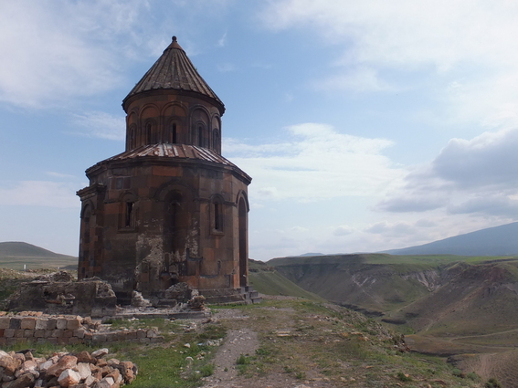 Ruined church in Ani, Turkey