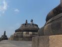 Buddha at borobudur