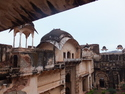 Bundi palace courtyard
