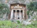 Cliff tomb