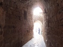 Corridor in the old city in acre