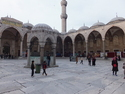 Courtyard of sultan ahmed mosque