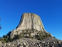 Devils tower up close