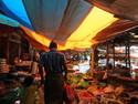 Market in bemo tana toraja