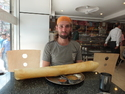 Me and giant dosa