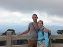 Me and moriah atop huangshan