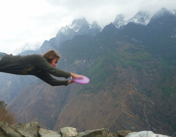 Layout over Tiger Leaping Gorge