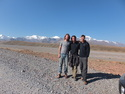 Me edson and walter enroute to kyrgyz border