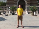 Me in front of the temple of five pagodas