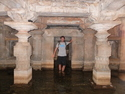 Me in slightly underwater temple