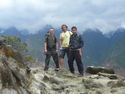 Me jason and xien on tiger leaping gorge trek