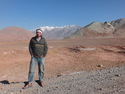 Me on pamir in tajikistan