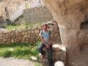 Me outside cave