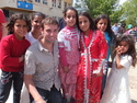 Me with turkish children