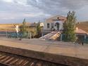 Mongolian railway station