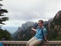 Moriah at lower peak of huangshan