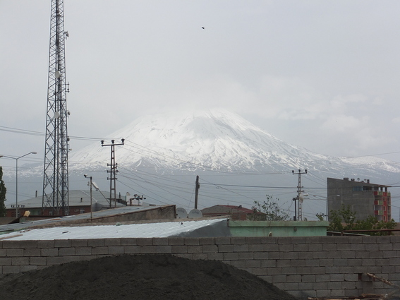 Mount Ararat over Dogubeyazit
