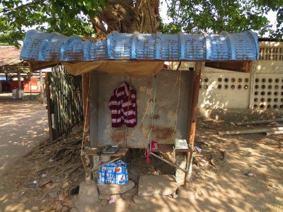 Burmese payphone