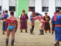 Naadam wrestling