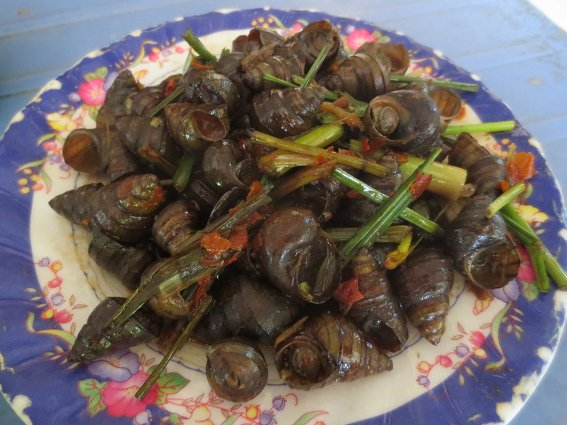 Oc Buou - Smalls snails in a spicy sauce