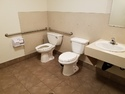 Odd bathroom configuration