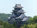 Okayama castle from afar