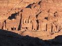Petra hillside