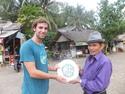 Pimp frisbee exchange