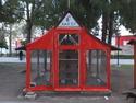 Public cat house