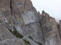 Rock wall path