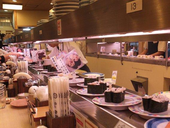 Rotating sushi restaurant