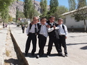 School boys in iskashim