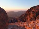 Senset over wadi musa
