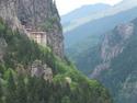 Sumela monastery from afar