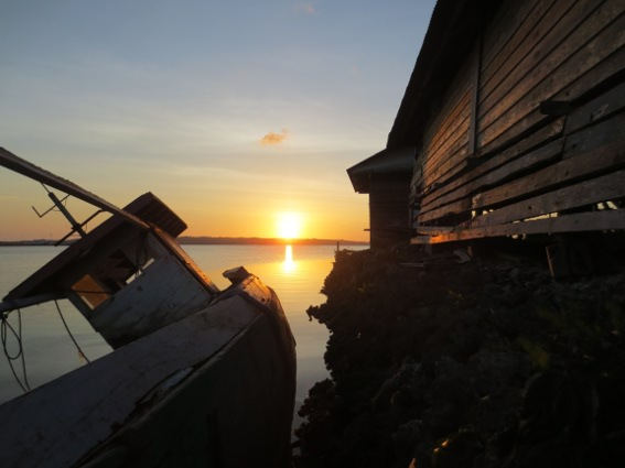 Sunset in Wangi-Wangi, Wakatobi