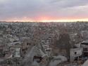 Sunset over cappadocia