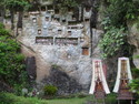 Tana toraja cave burial