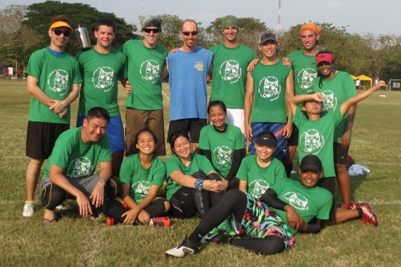 My team from the 13th annual Bangkok Hat tournament