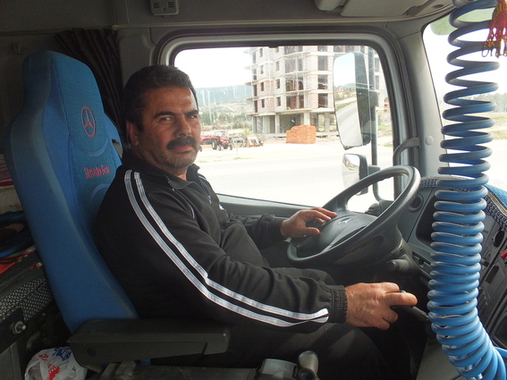 Nice truck driver on my way to Bodrum