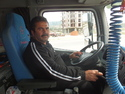 Truck driver i hitchhiked toward bodrum with