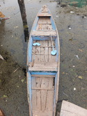Typical kashmiri transport boat