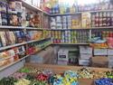 Ulaanbaatar food market cans