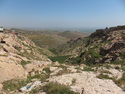 View out over mesopotamian plain