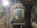 Weird old room in the church of the holy sepulchre