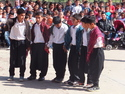 Young boys doing traditional turkish dance