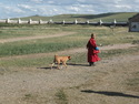 Young monk at kharkhorin
